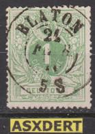 N° 26 DC. Blaton  Coba8 - 1869-1888 Liggende Leeuw