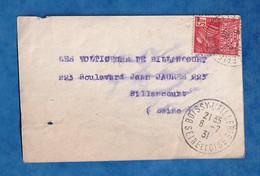 Document Ancien - Papier Lancé Par Ballon Et Tombé à BOISSY L' AILLERIE - 1931 - Les Voltigeurs De BILLANCOURT Colonie - Non Classificati