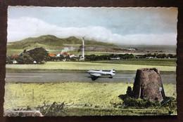 ST CHRISTOPHER-NEVIS-ANGUILLA - GOLDEN ROCK AIRPORT  - POST CARD FROM BASSETERRE ST KITTS  PAR AVION TO GENOVA 1960 - World