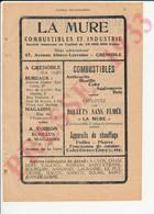 2 Vues Publicité La Mure Grenoble Dentelles Amblard & Marquet Société Lyonnaise De Dépôts Et Crédit Industriel 250/21 - Sin Clasificación
