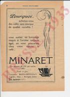 2 Vues Publicité Kieffer Bourgoin Isère Mary La Tour-du-Pin Coulomb Café Minaret Badin-Defforay Lagnieu Ain  250/21 - Zonder Classificatie