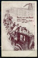 "German Empires November 1918 CPA S/w Propaganda Sonderkarte""Novemberrevolution-Reich Mir Die Hand Mein Leben!...""1 Karte - Covers"