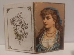 Calendario Almanacco PORTAFOGLI 1884 Stabilimento RIPAMONTI CARPANO Milano  8 X 5,5 Cm - Small : ...-1900