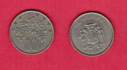 JAMAICA  10 CENTS 1969 (KM # 47) #6358 - Jamaica