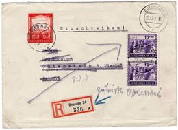 R - Brief Deutsches Reich  Mit Michel Nummer 804 & 805 - Sin Clasificación