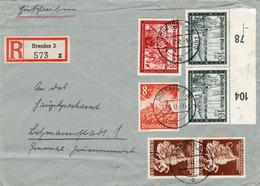 R - Brief Deutsches Reich Mit Guten Marken - Sin Clasificación