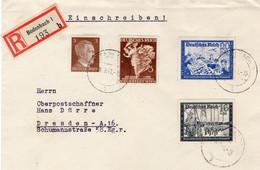 R - Brief Deutsches Reich Aus Bodenbach - Sin Clasificación