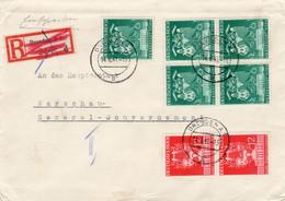 R - Brief Deutsches Reich Mit Einem Viererblock - Sin Clasificación