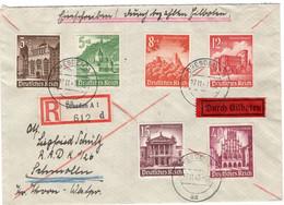 Eilboten R - Brief Deutsches Reich Mit Winterhilfswerk Marken - Sin Clasificación