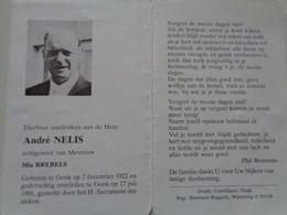Doodsprentje/Bidprentje  André NELIS  Genk 1922-1988   (Echtg Mia BREBELS) - Religion & Esotérisme