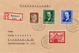 Sauberer R - Brief Deutsches Reich Bodenbach - Sin Clasificación