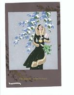 G. MESCHINI   GELUKKIG NIEUWJAAR - Andere Illustrators