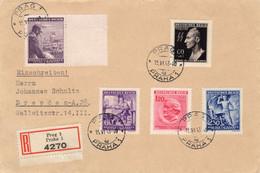 2 R - Briefe Böhmen Und Mähren - Sin Clasificación
