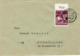 Brief Deutsches Reich Mit Sondermarke Oberrand Dresden Vom 22.1.1945 - Sin Clasificación