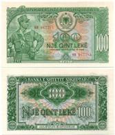 Albania - 100 Leke 1957 P. 30 UNC Lemberg-Zp - Albanie