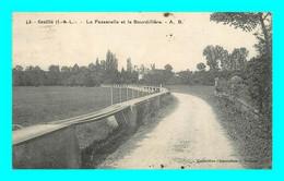 A934 / 139 37 - GENILLE Passerelle Et La Bourdilliere - Genillé