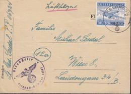 DR Luftfeldpost 1 A,gestempelt: Feldpost 16.6.1942, Feldpostnummer 36240 - Storia Postale