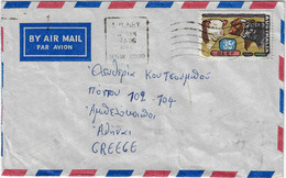 AUSTRALIA 1972 AIR MAIL COVER TO GREECE - Covers & Documents