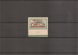 Memel ( PA 23A X -MH) - Unused Stamps