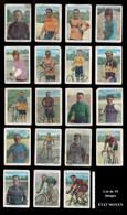 "VÉLO, CYCLISME : Lot De 19 Images Dites ""chromos"" Série Coureurs Cyclistes Du CHOCOLAT AMATLLER (Espagne)  ÉTAT MOYEN - Cycling"