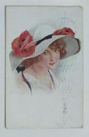 29686 Cartolina Illustrata SIMEONE - Donnine - VG 1918 - Donne