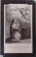 Francois Joseph Leduc-tournai 1786-velaines 1879-rondom Geknipt - Devotion Images