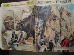 # DOMENICA DEL CORRIERE N 21 / 1963 AL PINI A TORINO / DILLINGER  / COOPER / VARIE PUBBLICITA - Prime Edizioni