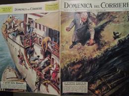 # DOMENICA DEL CORRIERE N 16 / 1963 LA BATTAGLIA D'ADARDE' / ALDO STELLA PORTIERE IN EGITTO / VARIE PUBBLICITA - Prime Edizioni