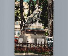 25 - Doubs - Besançon - Cpsm Gd Format Dentelée   - Monument Victor Hugo - 1967 - Besancon