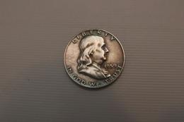 """½ Dollar 1959  """"Franklin Half Dollar"""", SILVER - Other - America"""