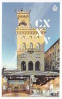 San Marino 2019, 125th Anniversary Of Inauguration Of Palazzo Publicco, MNH S/S - Nuovi