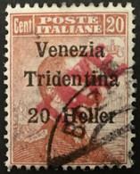 ITALIA - TRENTINO - Sassone BZ3/ 48 - Cat. 450 Euro - Segnatasse Provvisorio - Usato - Trente