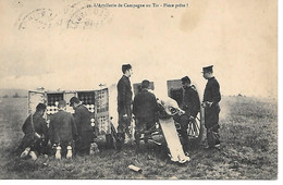 A/365             Militaria       L'artillerie De Campagne Au Tir - Manoeuvres