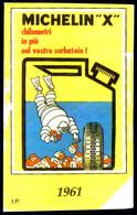 ADESIVO PARI TEMATICA SCHEDA TELEFONICA MICHELIN 1961 G 812 C&C 2863 - Unclassified