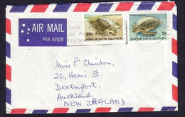 Papua New Guinea Cover Showing Turtle - Turtles