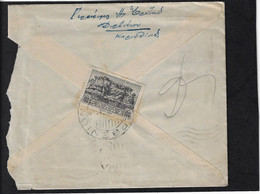 GREECE, 1943 Hand-censored Cover From DERVENION, 4 July, To Athens - Covers & Documents