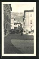 Cartolina Trento, Piazza Delle Erbe E Via Carlo Dordi - Trento
