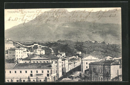 Cartolina Trento, Via Grazioli - Trento