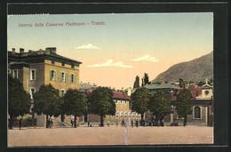 Cartolina Trento, Interno Delle Caserme Madruzzo - Trento