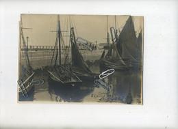 Oostende - Ostende  : 6 Juillet 1911   (  Zeer Oude Foto Formaat  21 X 15 Cm )  Zie Signature ( Bateaux - Boten ) - Lugares