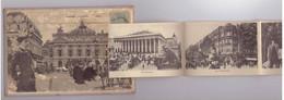75 Paris Carte à Systeme Souvenir Opéra Complète 12 Vues Cachet 1904 , Voir Descriptif Ci Dessous - Ohne Zuordnung