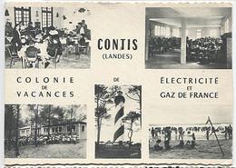 X123281 LANDES CONTIS COLONIE DE VACANCES DE ELECTRICITE ET GAZ DE FRANCE - Otros Municipios