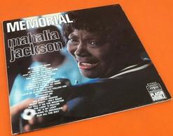 Double Album  Vinyles 33 Tours Mahalia Jackson  (1972) Mémorial  Vogue 40010 - Jazz