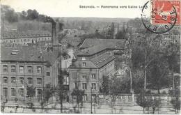 60 - BEAUVAIS - Panorama Vers L'usine Lainé - Circulé 1910 - - Beauvais