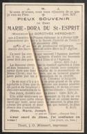 Emmerich, Prusse Rhénane, Tielt, 1908, Marie Du St-Esprit, Herscheit - Devotion Images