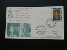 Anno Santo FDC 1975 Vatican Kimcover Kim Cover 600 - FDC
