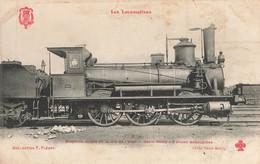 LES LOCOMOTIVES - ED.FLEURY - Andere