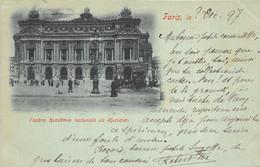 Paris - 1897 - L'Opéra Académie Nationale De Musique - Unclassified