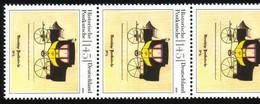 2806 Postkutsche 145 Cent Nk 5er-Streifen Aus 200-Rolle UNGERADE Nummer ** - Rolstempels