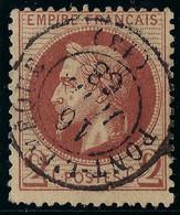 FRANCE CLASSIQUE: Le Y&T 26B, Ni Pli Ni Aminci, TB Obl. CAD Centrale Pont-l'Evêque (Calvados) - 1863-1870 Napoleon III With Laurels